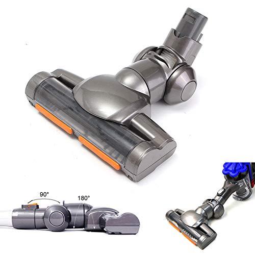 KOET Motorhead Brosse de sol pour aspirateur Dyson DC35 sans fil amovible avec brosses en fibre de carbone pour nettoyer les moquettes, les sols