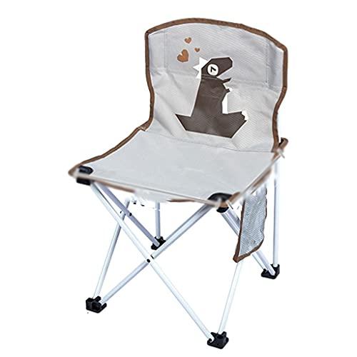 MKVRS Silla Plegable Infantil, Silla de Playa de Campamento portátil, imágenes de...