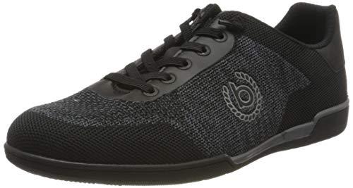 bugatti Herren 321726056950 Sneaker, Schwarz, 41 EU