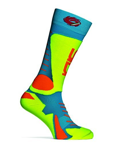 Sidi MX Socken Tony Blau/Gelb Größe S-M