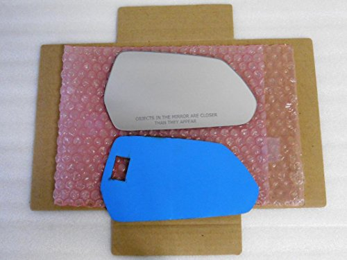 New Replacement Mirror Glass with FULL SIZE ADHESIVE for Chevrolet Camaro Passenger Side View Right RH