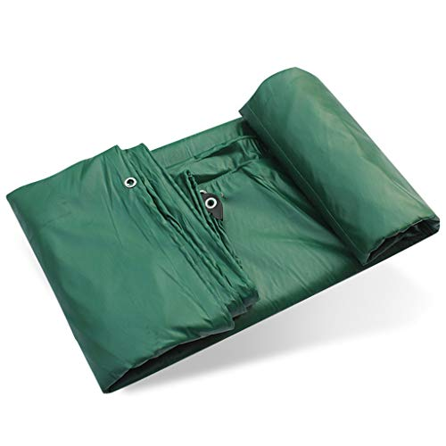 Tarp Cover Thick Material, Waterproof, Snowproof, Windproof, Rainproof, Dustproof for Tarpaulin Canopy Tent, Boat, RV or Pool Cover 18 Sizes to Option
