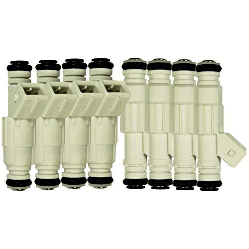 Set of 8 36lb Fuel Injectors for Ford GM V8 LS1 LT1 5.0L 5.7L 380cc