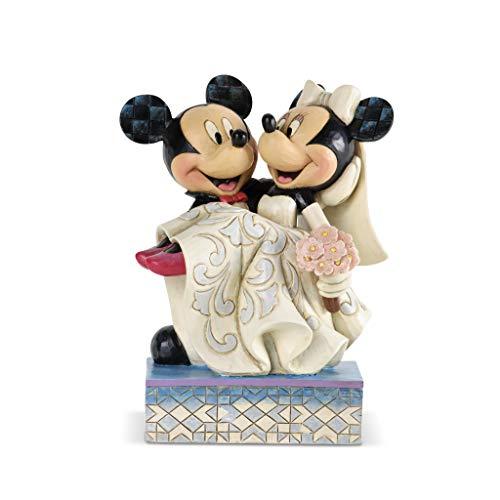 Disney Traditions 4033282 Mickey und Minnie Hochzeitsfigur, 17,0 cm
