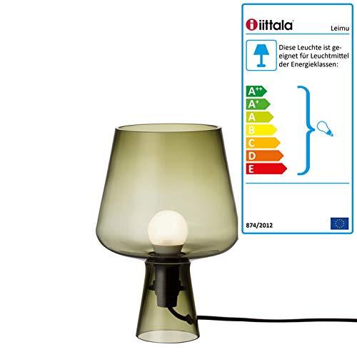Leimu lamp 240 x 165 mm mosgroen