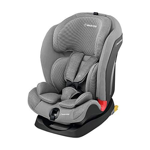 Maxi-Cosi Titan Silla Coche bebé grupo 1/2/3 isofix, 9 - 36 kg, silla auto bebé reclinable, crece con el niño desde 9 meses hasta 12 años, color nomad grey