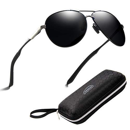Gafas de sol polarizadas para hombre mujere metal Marco grande/Ciclism