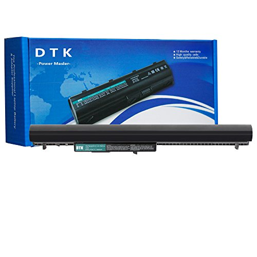 DTK OA04 746641-001 Laptop Battery Replacement for HP 240 G2 / 250 G2 / 255 G2 / CQ14 / CQ15 / 14-r100 TouchSmart Series / 15-r200 TouchSmart Series / 15-d000ee Series Notebook 14.8V 2200mAh