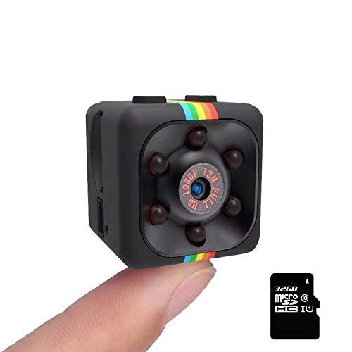 Cop Cam As Seen On TV - Secret Camera with SD Card - SendCord Mr. Detective Mini HD Camera Wireless - Security Camera - Nanny Cam Night Vision - Cam Motion Activated - Mini Security Camera Wireless
