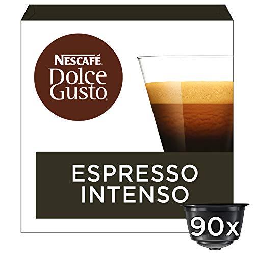 Nescafé Dolce Gusto Espresso Intenso koffie cups voordeelverpakking - 3 doosjes met 30 capsules