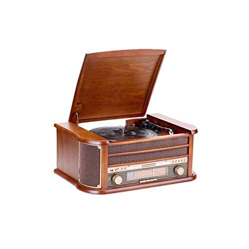 TBTBGXQ Gramófono, Tocadiscos Grabador de Vinilo 33/45/78