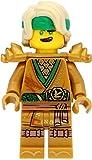 LEGO Ninjago - Minifigura de Lloyd dorada (edición 2021) con...