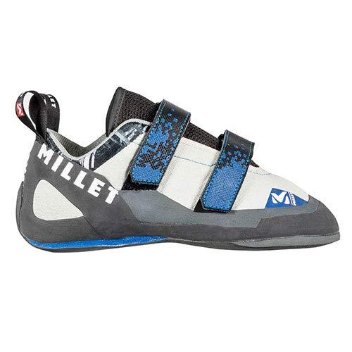 Millet Wall Street, Zapatos de Escalada para Niños, Gris (Grey/Blue 5933), 38...