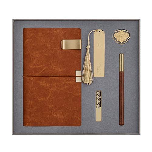 langchao notebook set termo taza bluetooth audio USB pen regalo de empresa regalo práctico LDA-05 oro