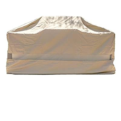 Premium Tight Weave BBQ Island Grill All Weather Protection Covers up to 100""
