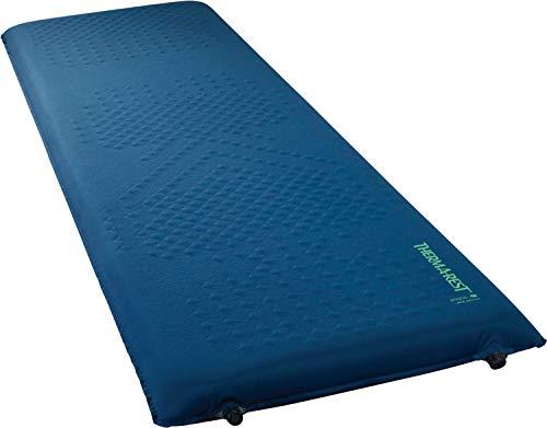 Therm-a-Rest LuxuryMap selbstaufblasende Isomatte mit TwinLock-Ventil, Camping-Matte, Schaumstoff, Größe XL, 76,2 x 195,6 cm, Poseidon Blue