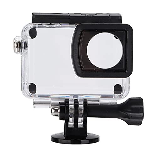 214 Kamera-Gehäuse, 30M wasserdichte Action-Kamera-Schutzhülle, PC-transparente Kamera-Tauchtasche, für SJCAM SJ8 Pro/Plus/Air