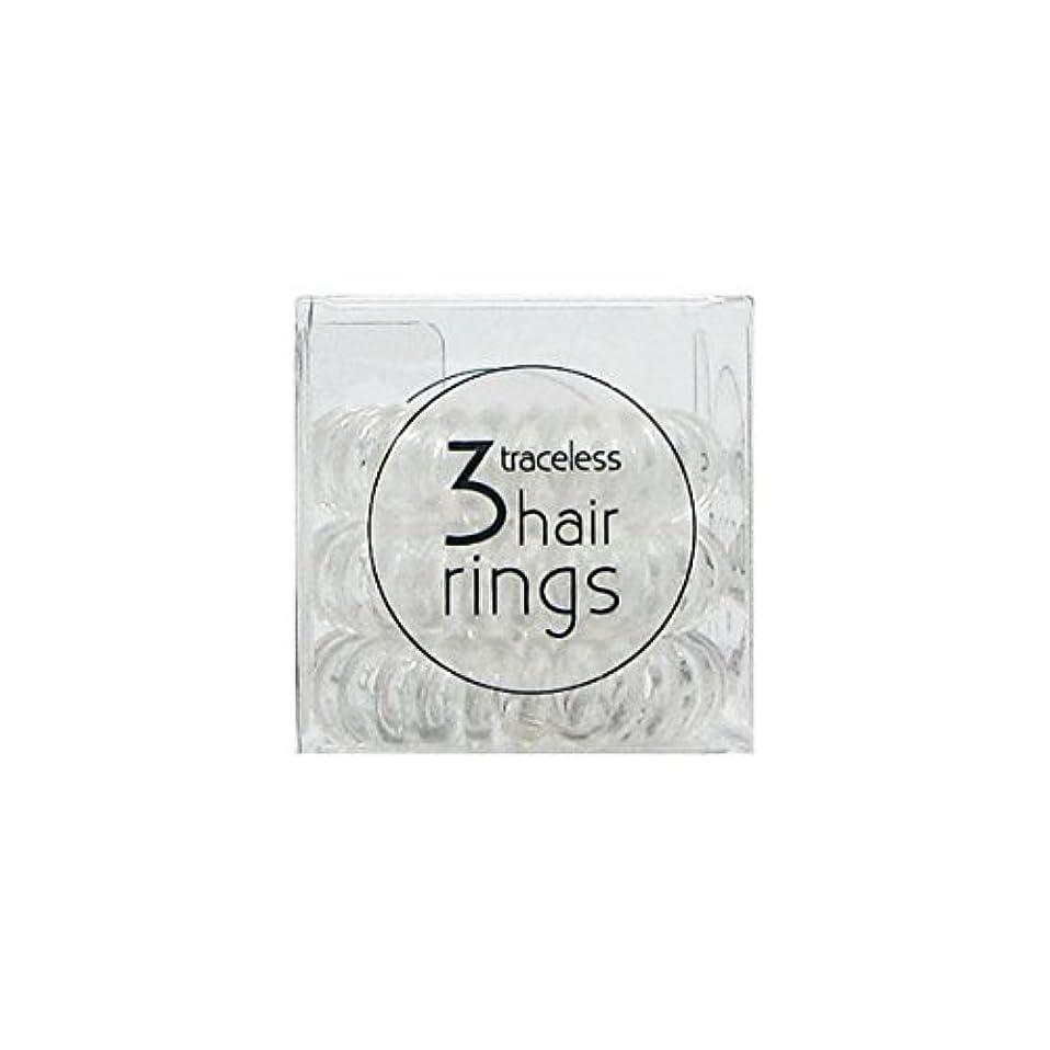 敵対的炭素意味のあるInvisibobble Original Hair Ring Crystal Clear [並行輸入品]