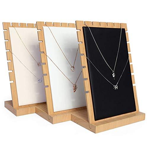 TONGS Joyería Monitor Estar,Vendaje Mesa Decoración,Joyería Almacenamiento Bandeja,Artesanía Decoración Fácil a Instalar en Pc/Beige / 17.5x10x25.2cm