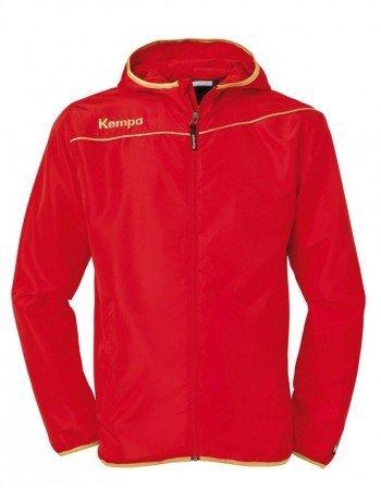 FanSport24 Kempa Gold Präsentationsjacke, Damen, rot/Gold Größe XL