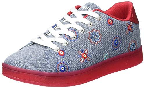 Desigual Shoes_Cosmic_Julieta DEN, Sneakers Woman. Mujer, Jeans, 39 EU