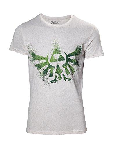THE LEGEND OF ZELDA – Hyrule Nappy Men's T-Shirt – Maat S