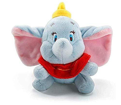Dumbo Pluche Hanger Cartoon Knuffels Olifant Poppen Knuffels voor Kinderen Kinderen Meisjes Tas Sleutelhanger Sleutelhanger 12CM Kerst