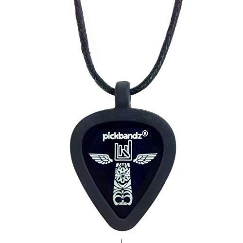 Pickbandz Necklace - Epic Black - Guitar Pick Plectrum Holder