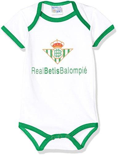 Real Betis Balompié Bodbet Body, Infantil, Multicolor (Blanco/Verde), 00