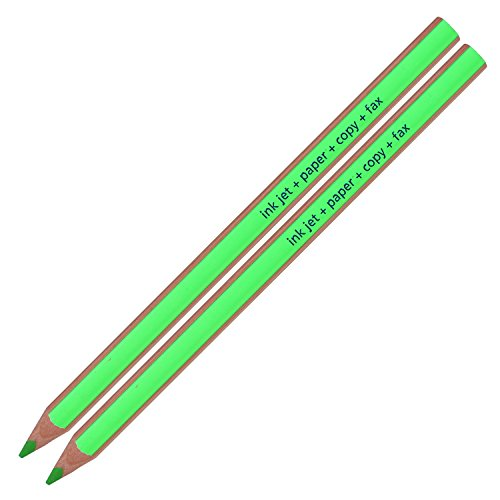 Staedtler Textsurfer Dry Highlighter Pencil 128 64 Drawing for Writing Sketching Inkjet,paper,copy,fax (Pack of 12 Green) Photo #2