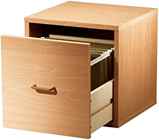 Foremost File Cube, Small 15-inch, Honey