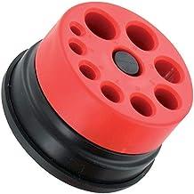 TIVOLY 11110220001 - Herramientas de mano para taladro de plástico + recogedor de polvo Pilot para brocas de 4 a 12 mm de diámetro