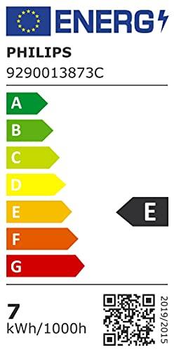 Philips LED Classic Bombilla, 60 W, Estándar A60 E27, Transparente, Luz Blanca Cálida, No Regulable, Pack de 2 Unidades