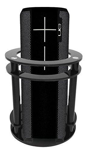 FitSand Speaker Holder Guard Stand Station for Logitech Ultimate Ears UE Boom 2 (I and II 2 Gen) Speaker - Black