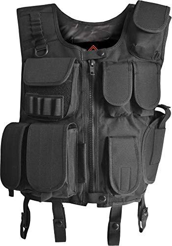 normani Taktische Einsatz Weste Security Pistolenholster Tactical Vest Größe XL/XXL