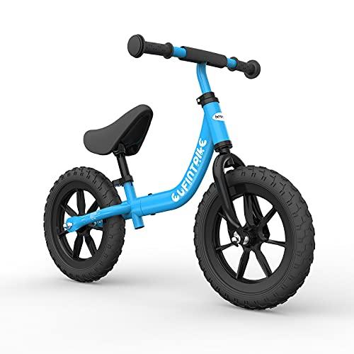 besrey Bici sin Pedales para niño Bicicleta sin Pedales de 2-5 años - Azul