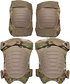 ArmyProperty Knee and Elbow Pads, Multicam/OCP, USGI Issue, Made in USA
