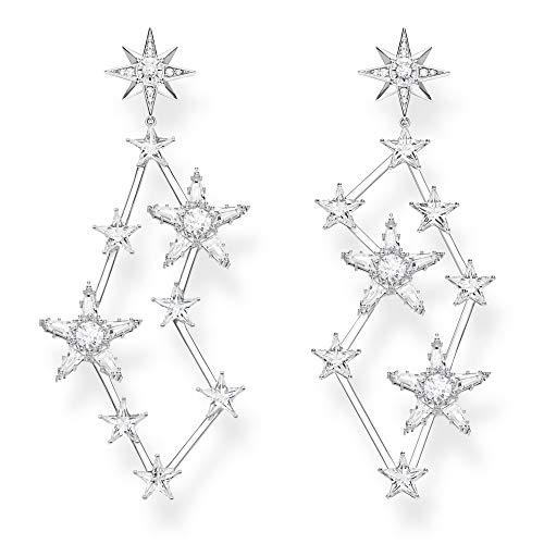 Thomas Sabo Damen-Ohrringe Sterne silber 925 Sterlingsilber H2085-051-14