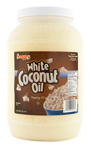 Snappy White Coconut Oil, 1 gallon