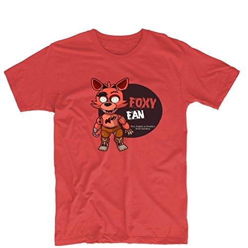 GloriousReturn Five Night's at Freddy's Foxy Printing T Shirt Custom Tee