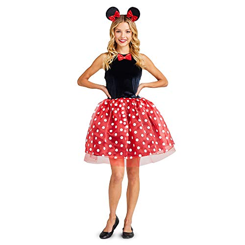 Disney Disfraz de Minnie Mouse con tut para mujer - - Mujeres L