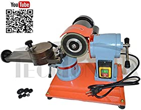 INTBUYING 110V Round Circular Saw Blade Grinder Machine Rotary Angle Mill Sharpener 125mm