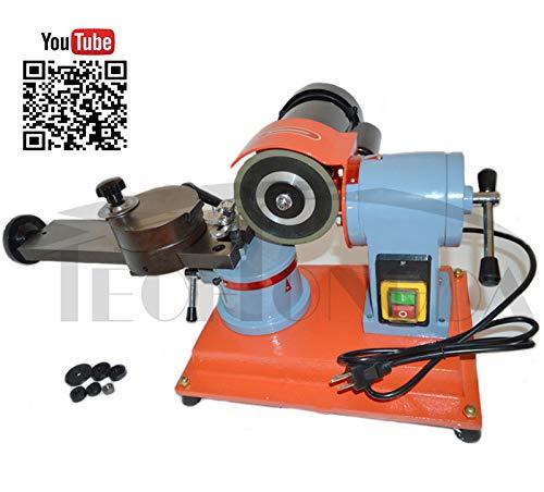 INTBUYING 110V Round Circular Saw Blade Grinder Machine Rotary Angle Mill Sharpener 125mm