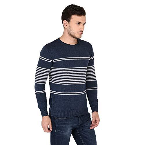 Armisto Men's Cotton Round Neck Sweater