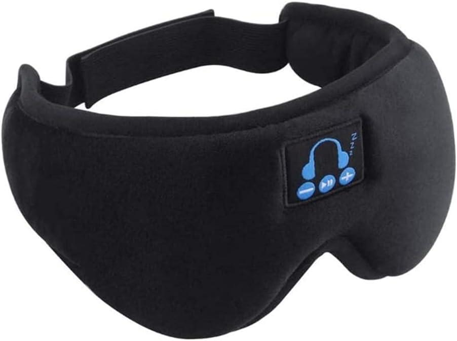 BAWAQAF Headphones Bluetooth 5.0 Wireless Headset Mask wi Ranking TOP1 Eye 3D Max 77% OFF