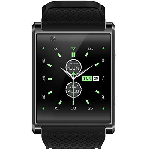 DBSCD DBCSD Smartwatch-Handy, 512 MB + 4 GB, 1,5 Zoll IPS-Touchscreen, Quad Core 1,3 GHz, Netzwerk: 3G, unterstützt Schlaf-Überwachung, präzise Schrittzählung, Kamera, GPS, Bluetooth (schwarz)