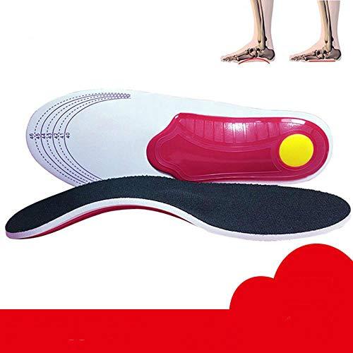 Sesame La Ayuda de Arco pies Planos Plantillas Hombres y Mujeres O/X Plantar la Pierna Dolor en el pie de corrección de Terreno,Talla L