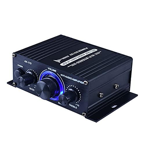 JIAQING 20HZ-20KHZ 400W DC12V Mini HiFi Audio Audio Amplificador DE Potencia Coche Estéreo Receptor de música FM Radio MP3 Accesorios para automóviles