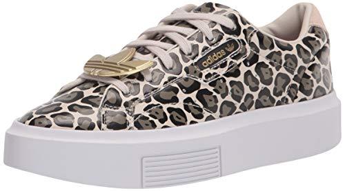 adidas Originals womens Adidas Sleek Super Clear Brown/Screaming Pink/Gold Metallic 6.5