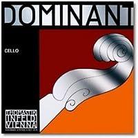 CUERDA VIOLONCELLO - Thomastik (Dominant 144A) (Plata) 3ェ Medium Cello 4/4 (G) Sol (Una Unidad)